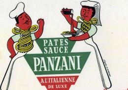 "B 3  /    1  BUVARD     "" PANZANI     ""  PAR  MORVAN   VOIR SCAN - Unclassified"