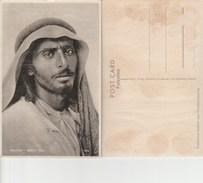7855) PALESTINE BEDUIN TYPE PALESTINA BEDUINO NON VIAGGIATA 1930 CIRCA CRAQUELET SUL LUCIDO - Palestina
