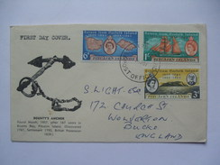 PITCAIRN ISLANDS 1964 RETURN OF PITCAIRN ISLANDERS FDC