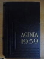 Ancien - Agenda 1959 ELJI Marque Déposée Ref. 307 Pages écrites - Calendriers