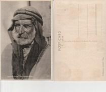 7856) PALESTINE ARAB FROM TRANSJORDANIA PALESTINA ARABO DELLA TRANSGIORDANINON VIAGGIATA 1930 CIRCA CRAQUELET SUL LUCIDO - Palestina