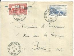 Algérie   1939 Bone Philippeville - Brieven En Documenten