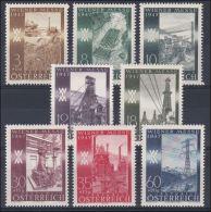 Österreich 1947: ANK 811- 818 ** Wiener Frühjahrsmesse, ANK 5.- € - 1945-60 Unused Stamps