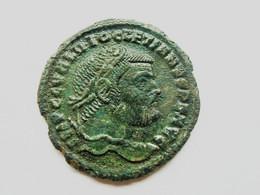 DIOCLETIAN 284-305 Follis 302-305 Thessaloniki GENIO POPVLI ROMANI - 6. Die Tetrarchie Und Konstantin Der Große (284 / 307)