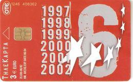 Greece-Olympiacos Football Club Tirage 35.000,06/2002,used - Sport