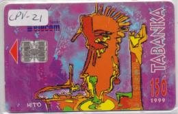 CAPE VERDE  PHONECARD TABANKA-150 Units-1999 -USED(bx1) - Cape Verde