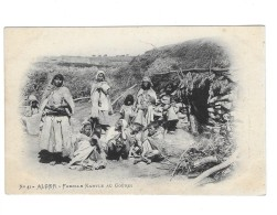 """CP """"Alger""""famille Kabyle Au Gouri - Szenen"""