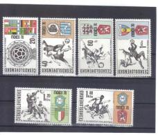 BAU1014  TSCHECHOSLOWAKEI CSSR 1970  MICHL  1958/63  ** Postfrisch  SIEHE ABBILDUNG