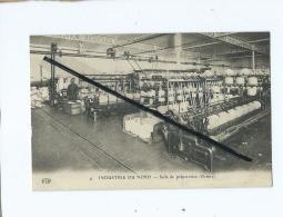 CPA  -  Industrie De Nord  -  Salle De Préparation  (filature ) - Unclassified