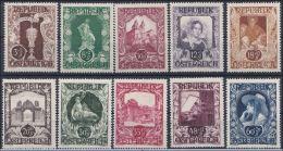 Österreich 1947: ANK 827- 836 ** Kunstausstellung Wiener Künstlerhaus, ANK 8.- € - 1945-60 Unused Stamps