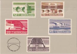 Nederland - Zomerzegels 1968 - Bruggen/Bridges/Brücken - Ongebruikt - Postzegels (afbeeldingen)