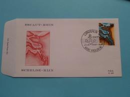 EXCAUT-RHIN / SCHELDE-RIJN ( F.D.C. P. 457 ) VIELSALM 20-9-1975 ( Zie Foto ) ! - FDC