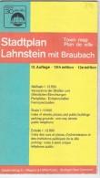 Stadtplan Lahnstein Mit Braubach  - Germany - Carte Stradali