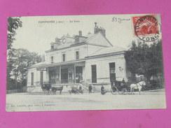 TONNERRE   1910   LA GARE  FACADE   CIRC OUI EDIT - Tonnerre