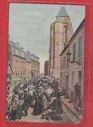 Le Tréport  --  Jour De Marché  -  Coin Manquant - Le Treport