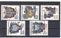 BAU1000  TSCHECHOSLOWAKEI CSSR 1974  MICHL  2195/99 ** Postfrisch  SIEHE ABBILDUNG