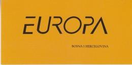 Europa Cept 2007 Bosnia/Herzegovina Mostar Booklet ** Mnh (33045) - 2007