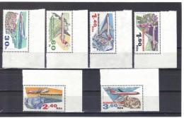BAU1005  TSCHECHOSLOWAKEI CSSR 1973  MICHL  2166/71 ** Postfrisch  SIEHE ABBILDUNG