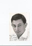 JACQUES DUBY PHOTO AVEC AUTOGRAPHE - Autographes