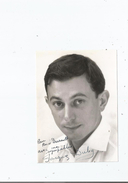 JACQUES DUBY PHOTO AVEC AUTOGRAPHE - Handtekening