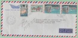 C9. Polynésie  Papeete île Tahiti RP 7.12.70       Bel Affranchissement - Polynésie Française