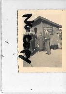 33 LE VERDON A CONFIRMER  ARRET DANS UNE  GARE PHOTO ALLEMANDE 1940 / 1944 - France