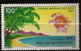 Wallis & Futuna 1983 N° PA 123 ** Plage, Palmier, Indien, UPU, Union Postale Universelle, Heinrich Von Stephan, La Poste - Nuovi