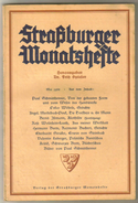 Revue Ancienne 1938 Strasburger Monatsheste Février  1938 - Revues & Journaux