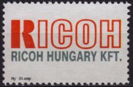 RICOH Electronics / Printer Camera -1990's HUNGARY - LABEL CINDERELLA VIGNETTE