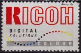 RICOH Electronics / Digital Printer Camera -1990´s HUNGARY - LABEL CINDERELLA VIGNETTE - Rainbow