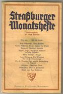 Revue Ancienne 1939 Strasburger Monatsheste  Février 1939 - Revues & Journaux