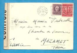 Cuba - La Havane Pour Mazamet (Tarn - France). Controle Censure. CENSORSHIP - Cuba