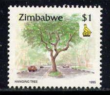ZIMBABWE - N° 324** - ARBRE AUX PENDUS - Zimbabwe (1980-...)