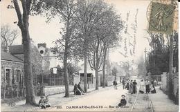 77 DAMMARIE-LES-LYS - 683 - Rue De Melun - Circulé En 1917 - Ed. ELD - Dammarie Les Lys
