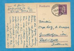 Allemagne - Entier Postal De GREIFSWALD Pour GUNDHOLZEN. 1944 - Deutschland