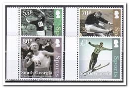 Zuid-Georgia 2016, Postfris MNH, Sport - Zuid-Georgia