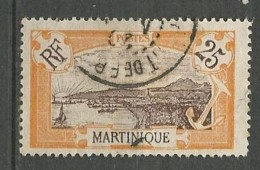 MARTINIQUE N° 96 OBL TB - Martinique (1886-1947)