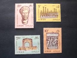 LEBANON 1968 Airmail - Tyre Antiquities MNH - Libanon
