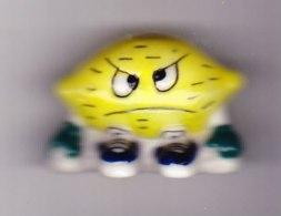 1 Fève Fruit Humoristique Le Citron - Sorpresine