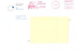 EMA- Paris 16 Richepin-Hergé- Tintin Et Capitaine Haddock-Mille Sabords! Exposition Du 21/3 Au 10-12-2001