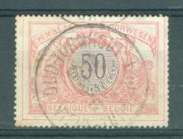 """BELGIE - OBP Nr TR 35 - Cachet """"OUD-TURNHOUT - VIEUX-TURNHOUT"""" - (ref. AD-7004) - Chemins De Fer"""