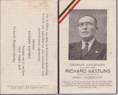 Doodsprentje (7287) Heist Op Den Berg - Gross Rosen - BASTIJNS / GYSBRECHTS 1896 - 1943 Gestapo, Oorlog - Andachtsbilder