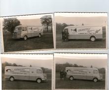 (2000)  4 Photos Originales . Ban De Sapt .camion Citroen . Salaisons Fromages  L Gerard (10.5x7.5cm) (bon Etat) - Francia