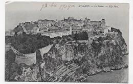 MONACO EN 1909 - N° 783 - LE ROCHER - CPA NON VOYAGEE - Monaco