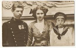 Bucarest 1919 Prince Carol Princess Marie And Prince Nicolas - Rumänien