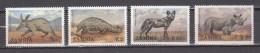Zambia 1988,4V,set,aarvark,pangolin,wild Dog,black Rhinoceros,MNH/Postfris(A2946)