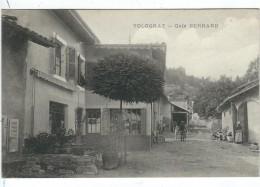 "Ain : Volognat, Café ""Bernard"" - Francia"