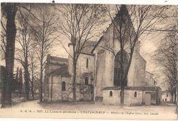 Chateauneuf Abside De L'église Charente Pittoresque TTB - Chateauneuf Sur Charente
