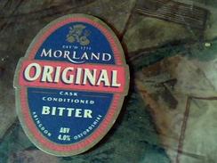 Sous Bock  Publicitee Biere Anglaise  Morland Original - Beer Mats