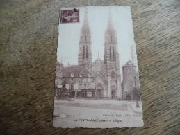 CPA De La Ferté Macé - L´église - Daté 1926 - La Ferte Mace